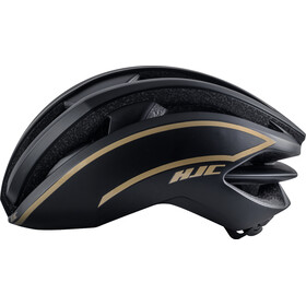 HJC IBEX Road Cykelhjelm, matt black / gold